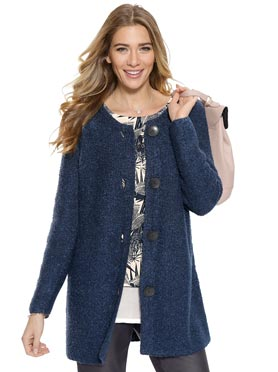 Tricot grande taille femme