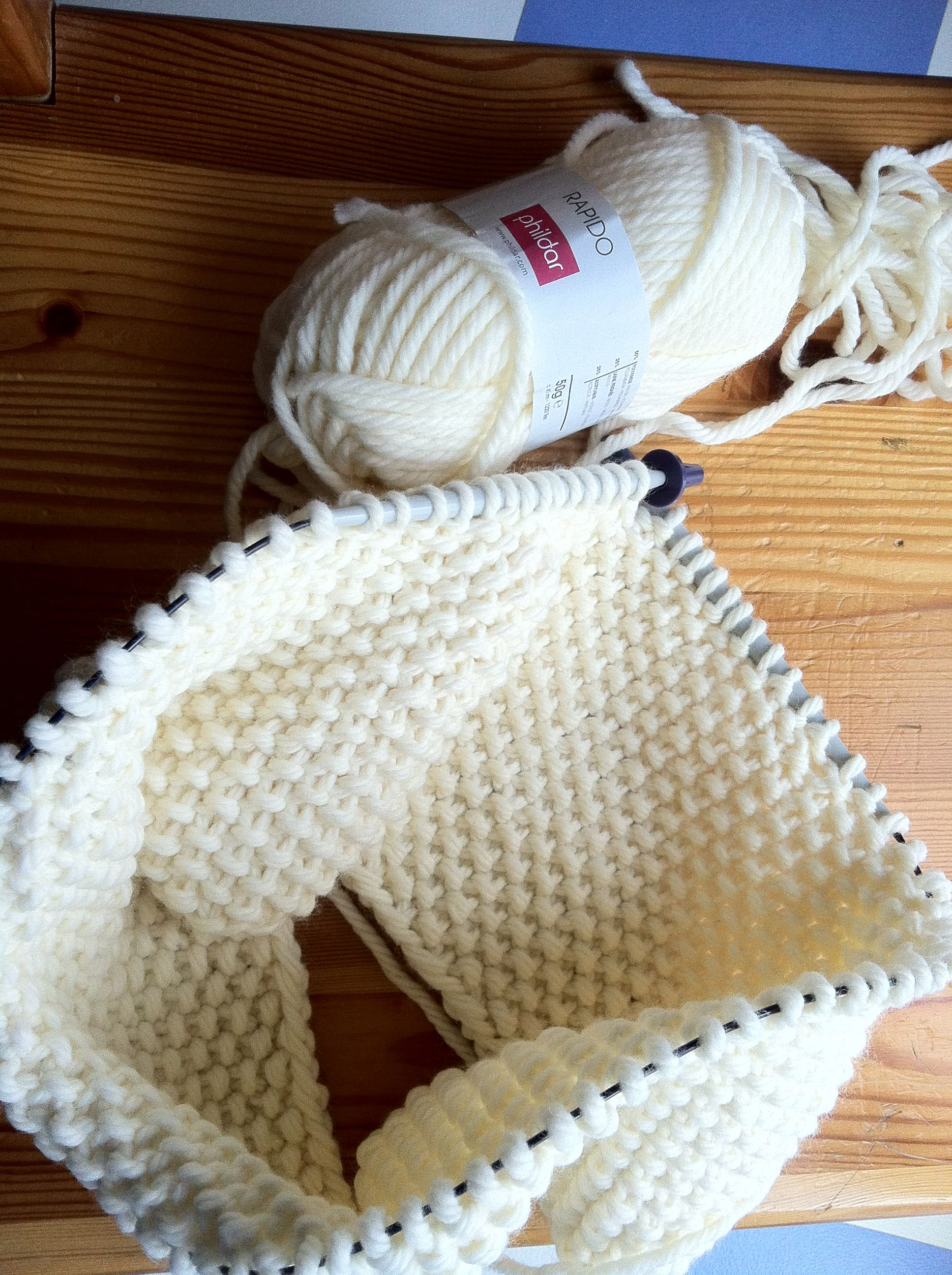 Tricot aiguille circulaire