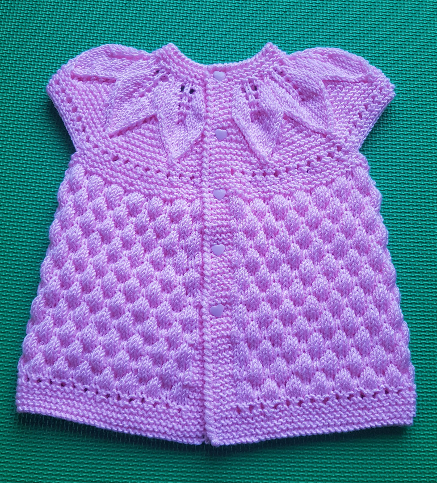 Point fantaisie tricot bebe