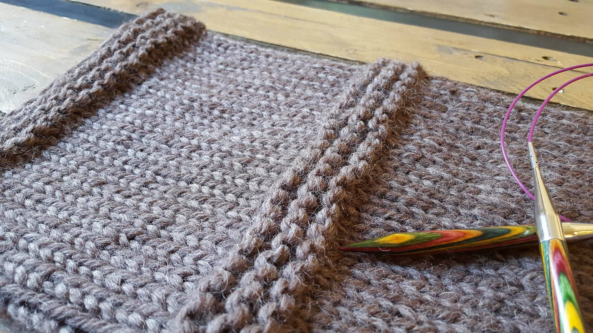 Modele tricot snood aiguille circulaire