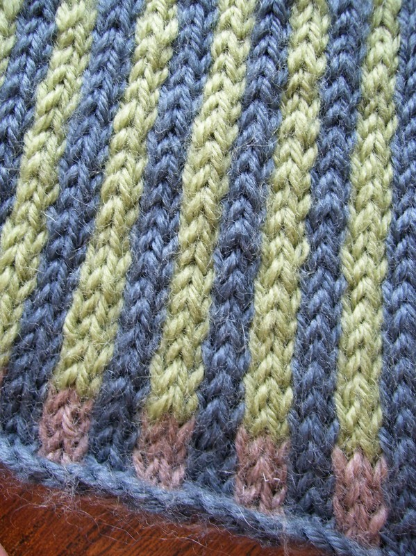 Modele tricot rayures verticales