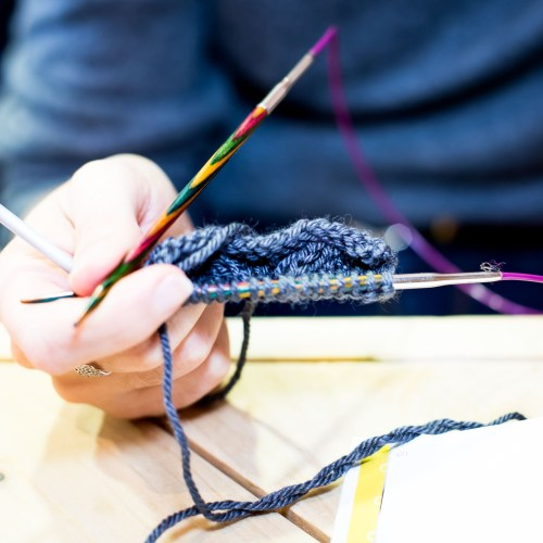 Tricot tournefeuille