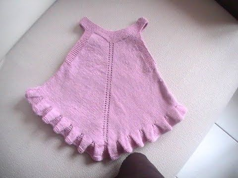 Youtube tricot robe bebe