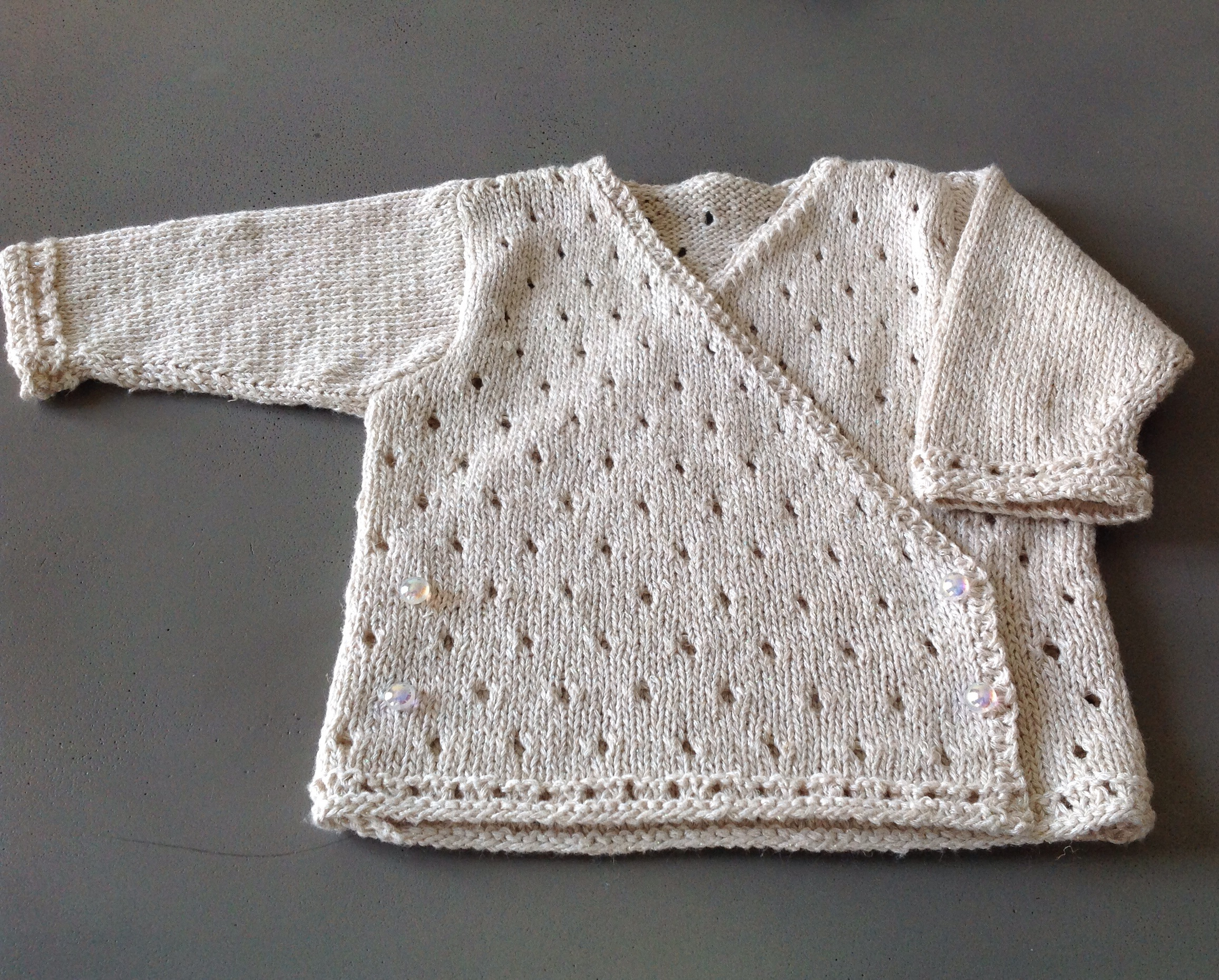 Tricot bebe edition marie claire