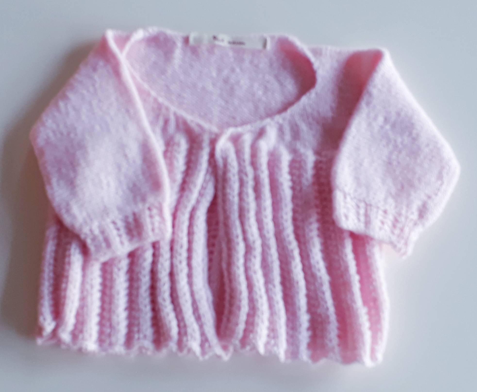 Tricot fille 9 mois