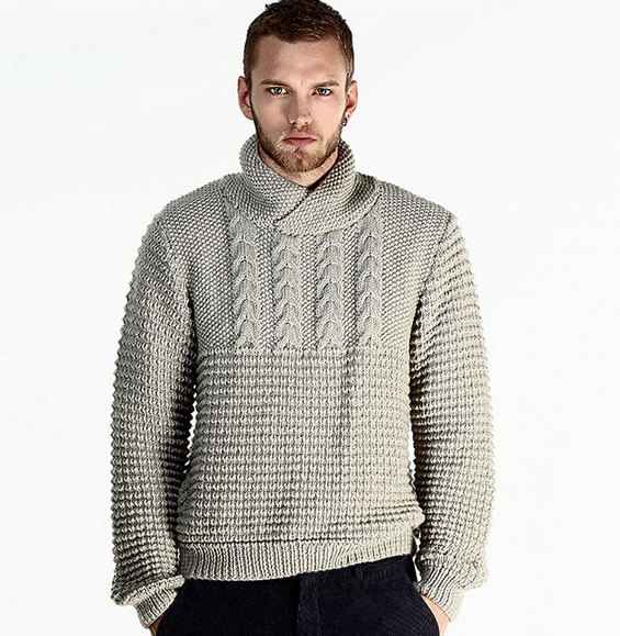 Tricot pull homme aiguille 6