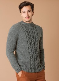 Taille pull homme tricot