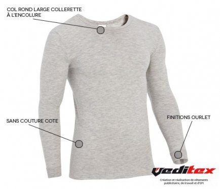 Maillot de corps thermolactyl homme