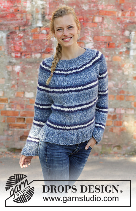 Modele tricot a rayures