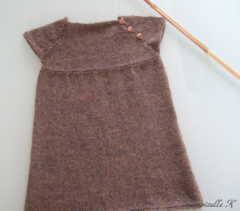 Tricot robe 3 ans