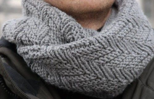 Tricot snood adulte
