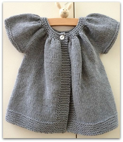 Robe tricot fille 2 ans