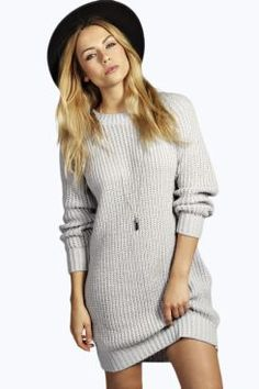 Tricoter une robe pull