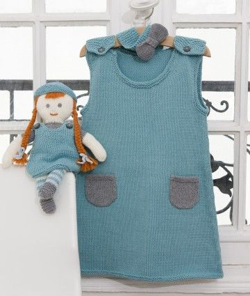 Tuto robe tricot fille 2 ans