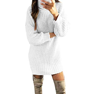 Tricot robe pull fille