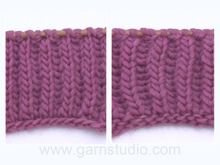 Tutoriel tricot maille anglaise