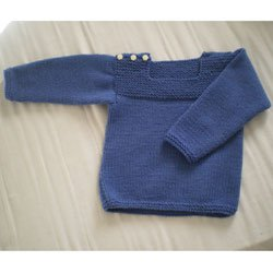Tricot pull fille 4 ans