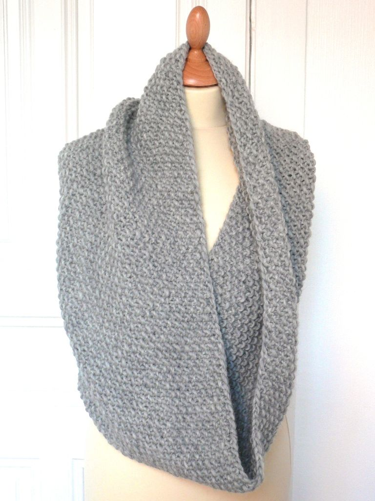 Snood tricot quelle longueur
