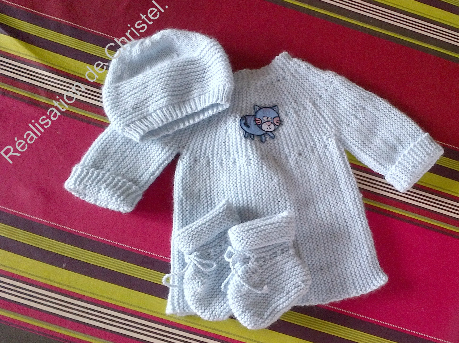 Robe tricot taille naissance
