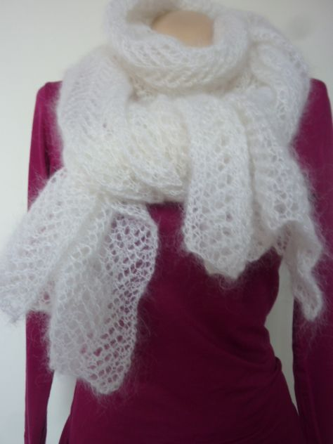 Tricot laine mohair