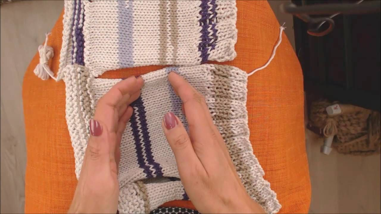 Couture invisible tricot cote anglaise