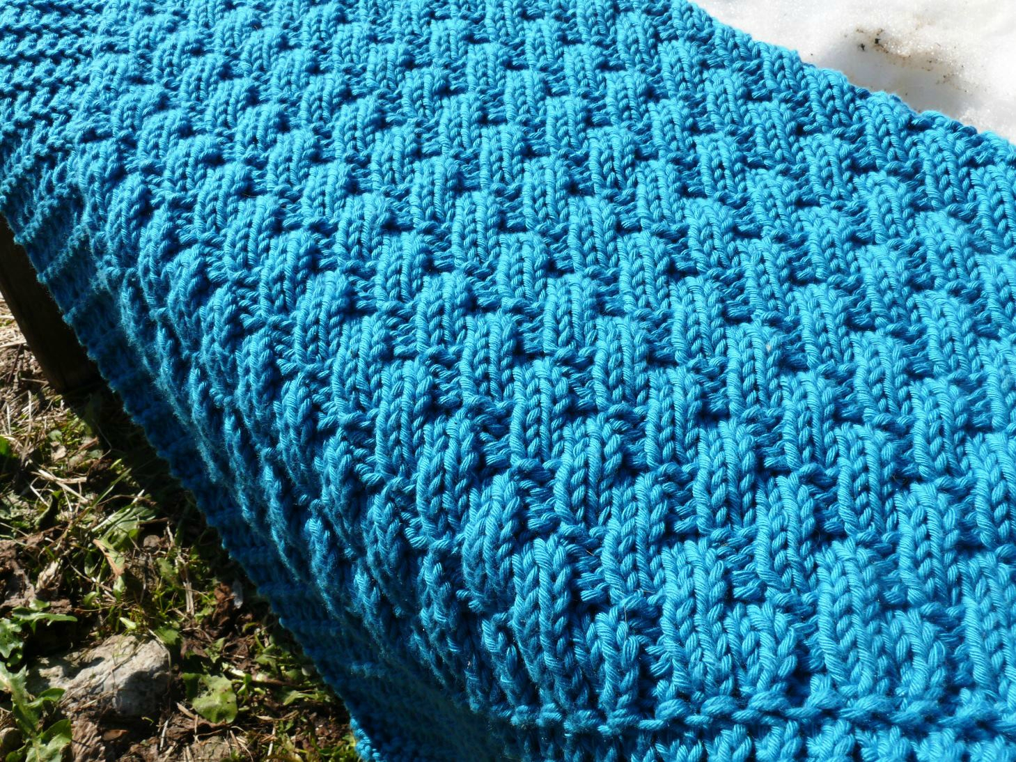 Idee tricot couverture
