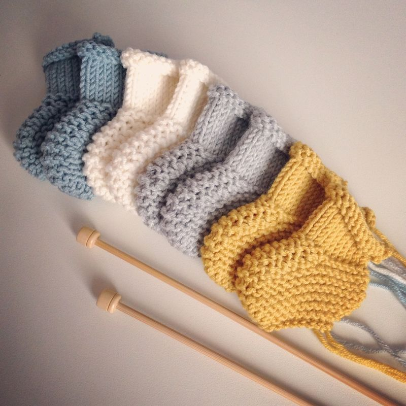 Tricot chausson