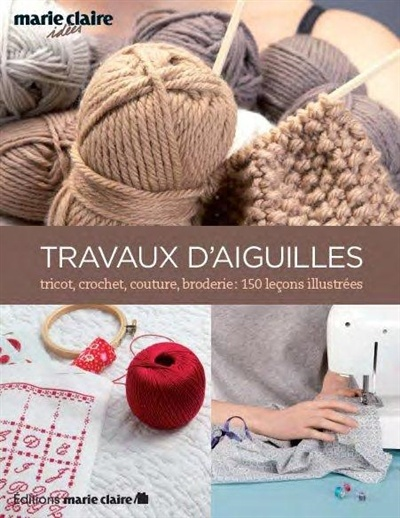 Tricot crochet couture broderie