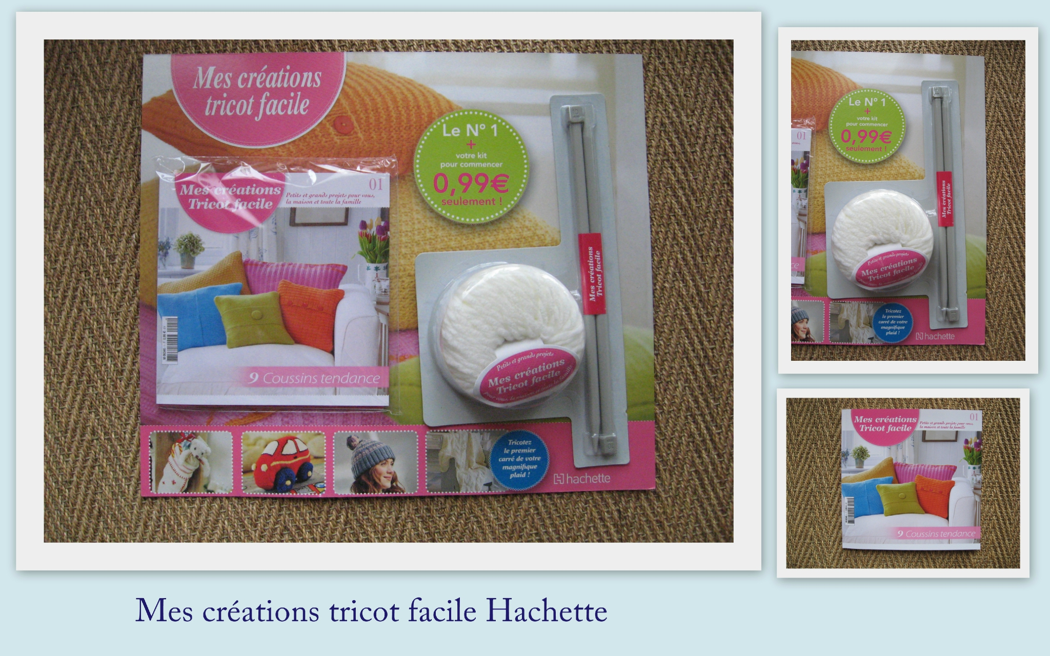 Tutoriel tricot passion hachette