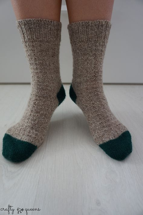 Tricot chaussettes toes up
