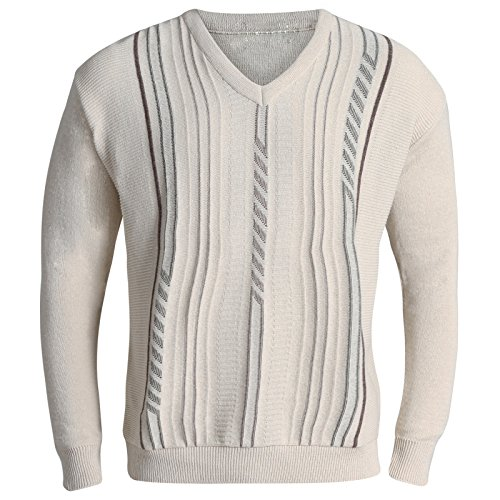 Tricot pull homme col v