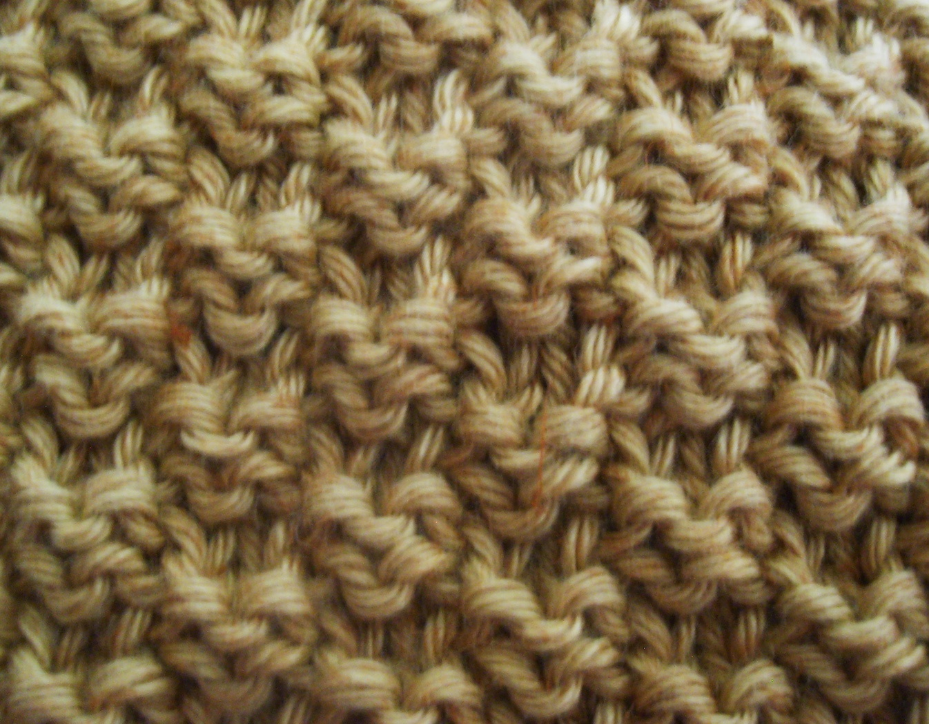 Explication du point de riz au tricot