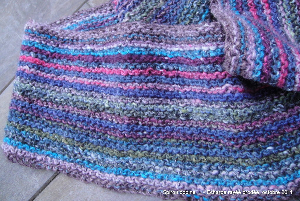 Tricot rayures