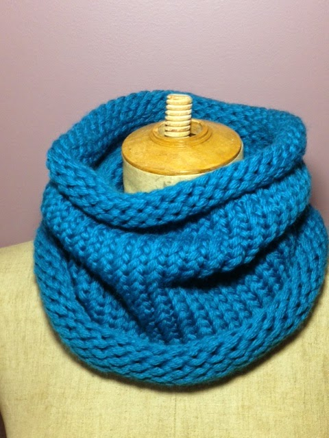 Tricotin rectangulaire snood
