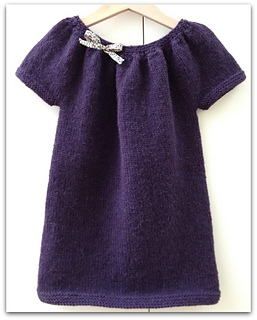 Tricot robe top down