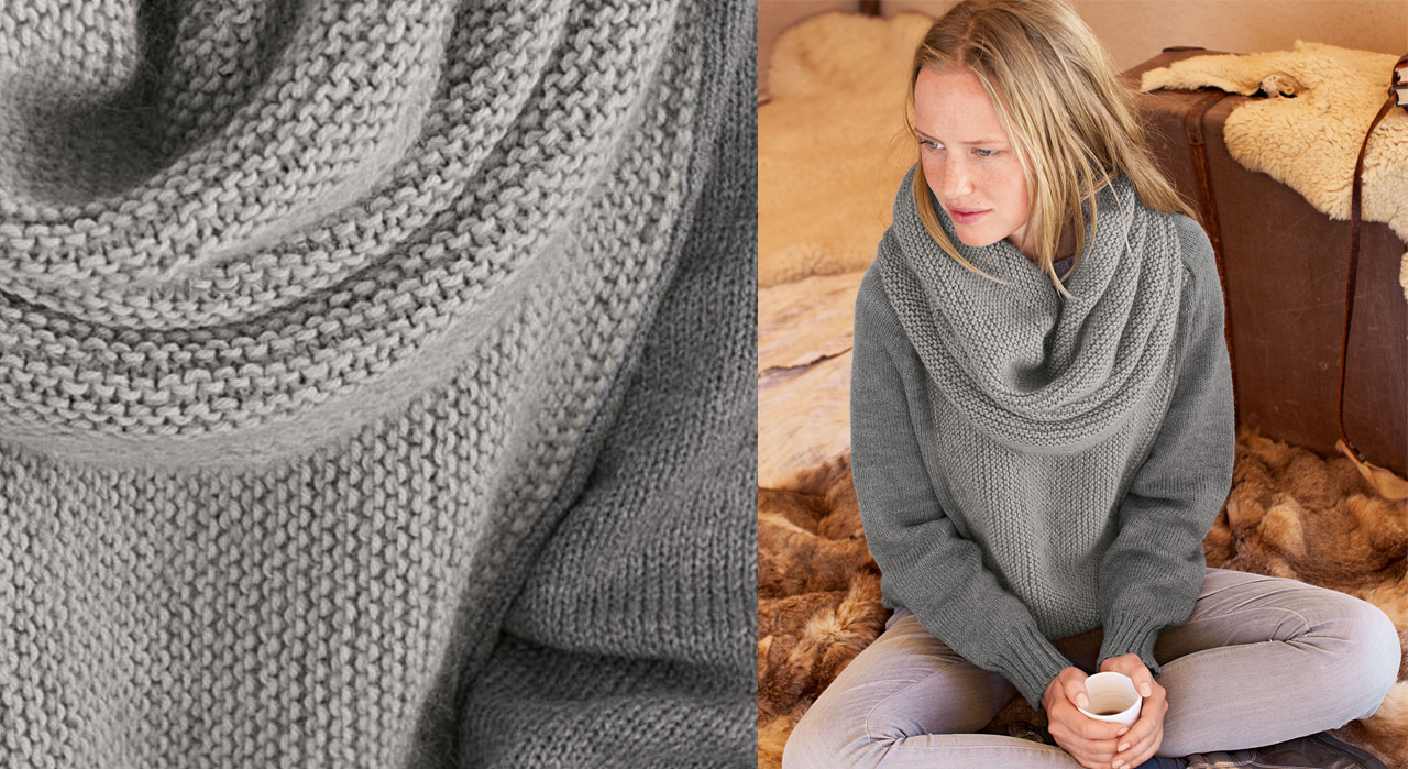 Patron tricot grosse maille