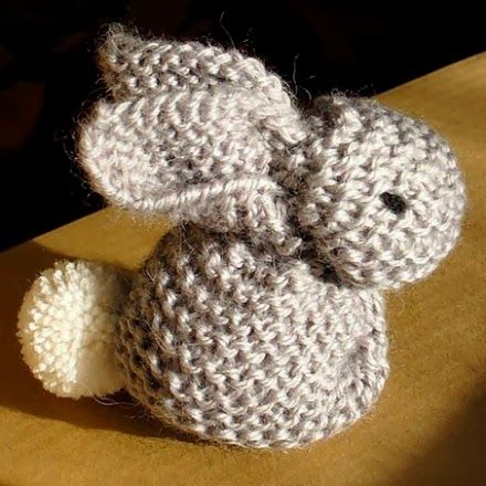 Lapin au tricot explication