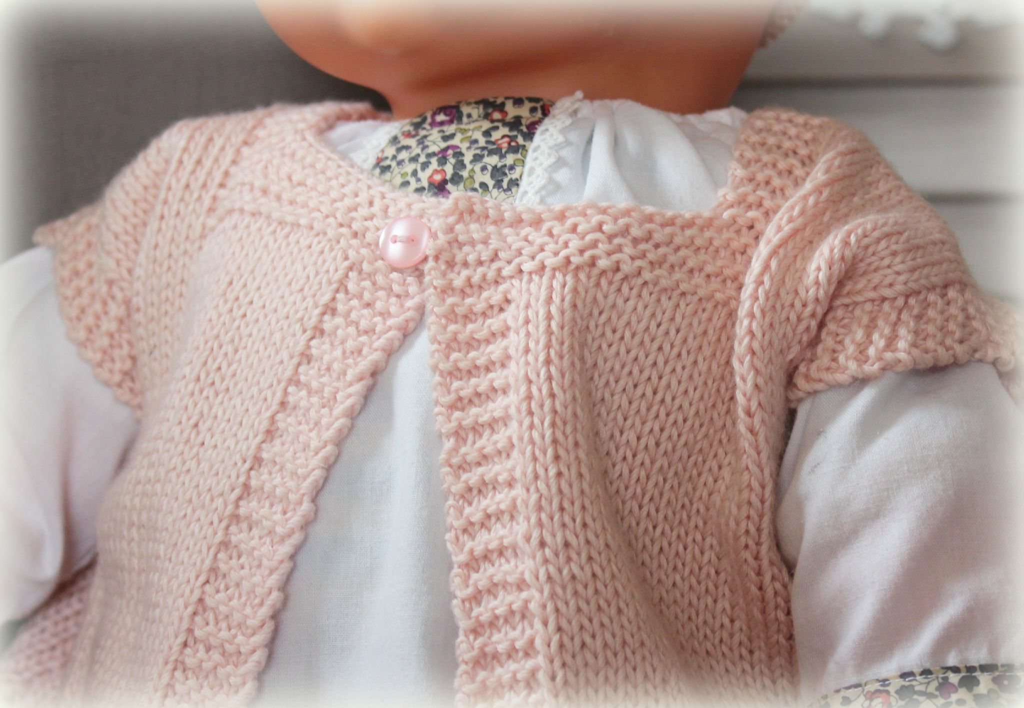 Image layette tricot