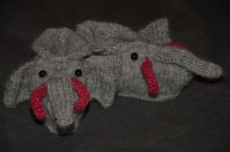 Modele tricot chausson animaux