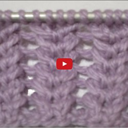 Tricot point tuto