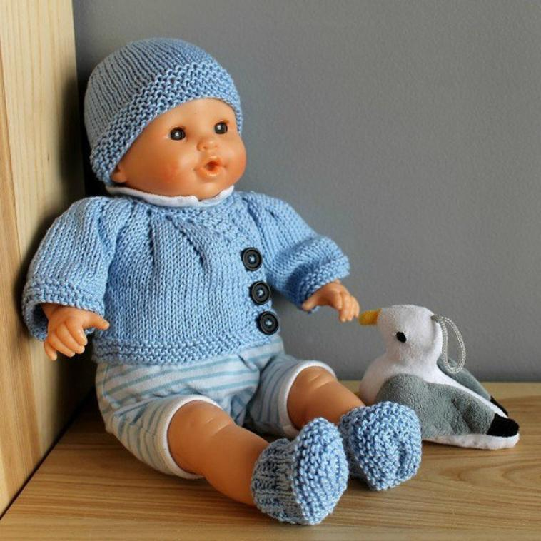 Tricot pour bebe corolle