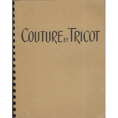 Tricot couture machine
