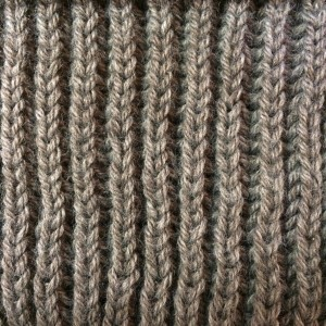 Tricot maille cote anglaise