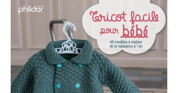 Tricot facile marie claire