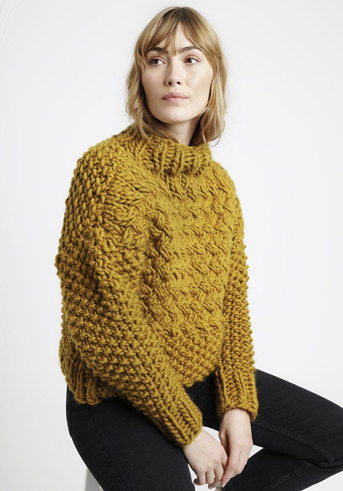 Tricot grosse laine femme