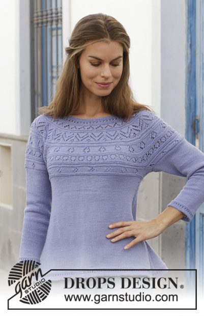 Drops tricot pull femme