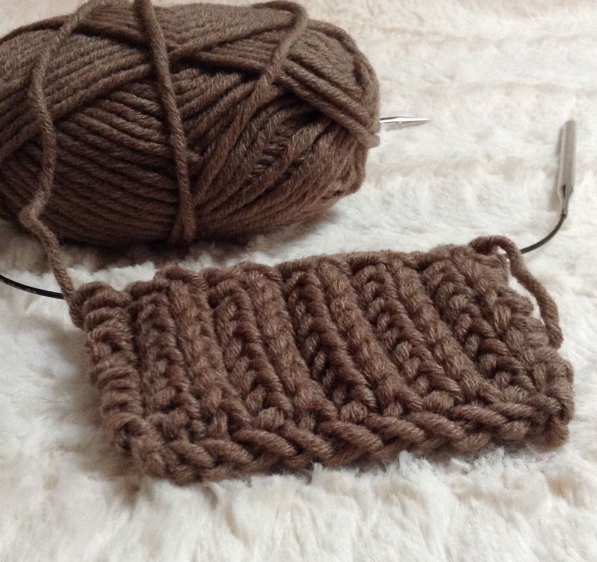 Tricot maille anglaise explication