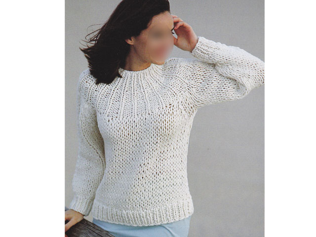 Tricot pull femme simple