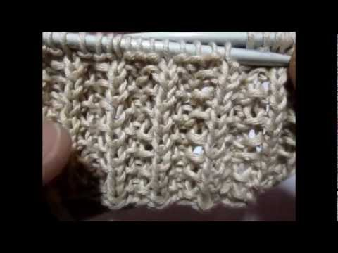 Fausse cote anglaise tricot explication