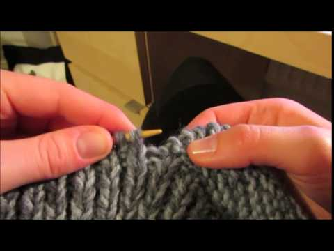 Tricot chausson adulte simple